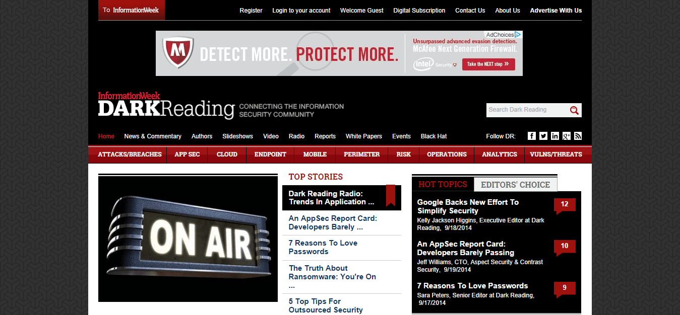 Blog Seguridad DarkReading