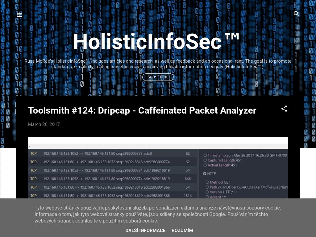 Blog Seguridad HolisticInfoSec