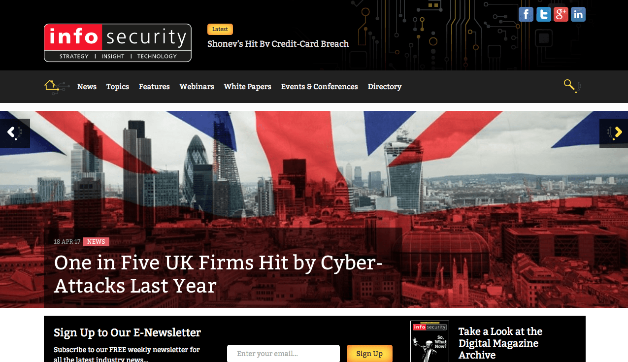 Blog Seguridad InfoSecurity