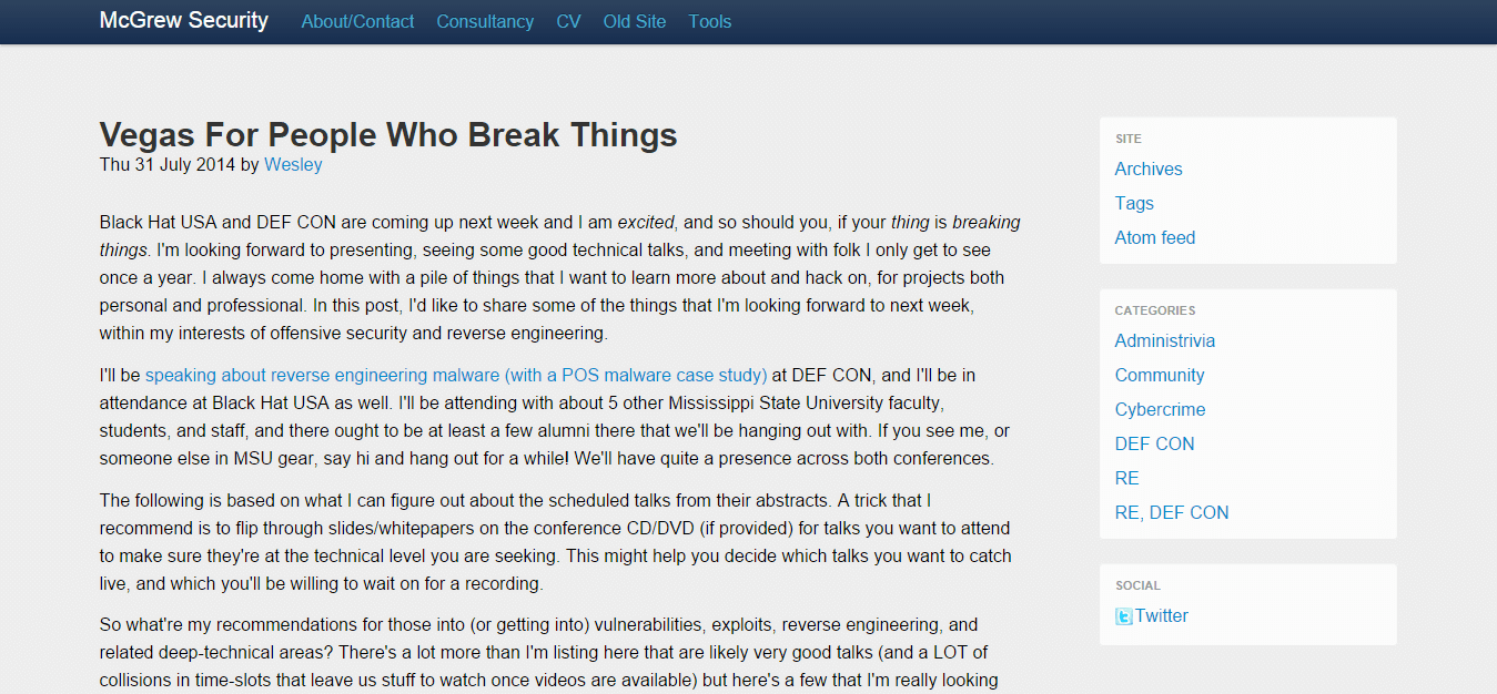 Blog Seguridad HorneyCyber