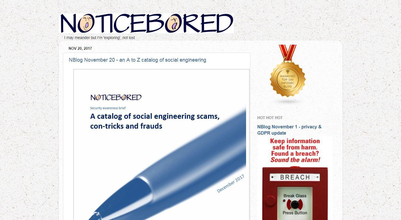 noticebored Blog