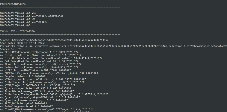 Compiladores Virus Total Info Script Analisis de Malware by Rafa
